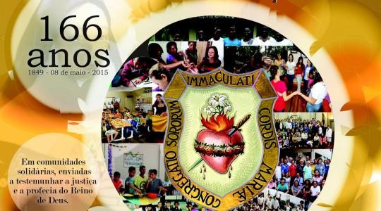 Mensagem da Diretora Geral para o dia 08 de maio – Aniversário de Fundação da Congregação