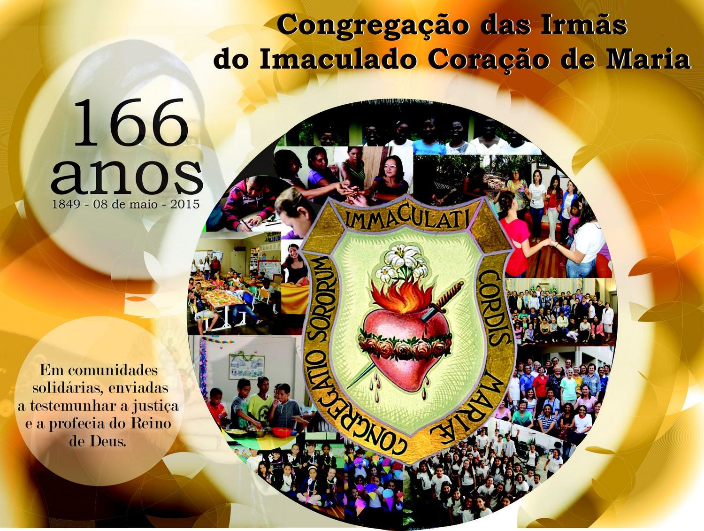 08 de maio: 166 anos de fundação da Congregação