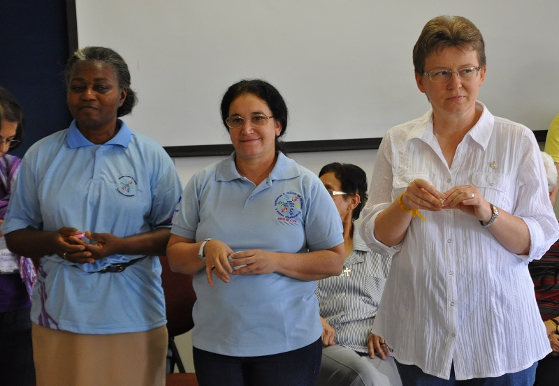 Da esquerda pra direita: Irmãs Anajar, Eurídes Alves e Bárbara Halina