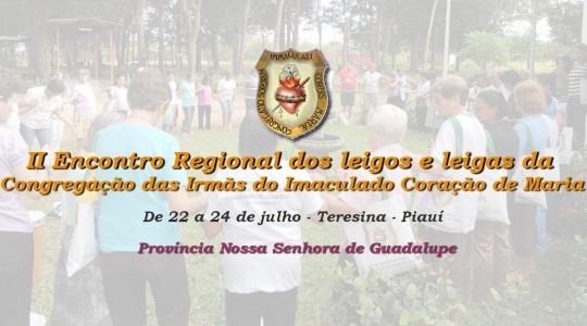 Encontro regional dos leigos e leigas ICM será em Teresina