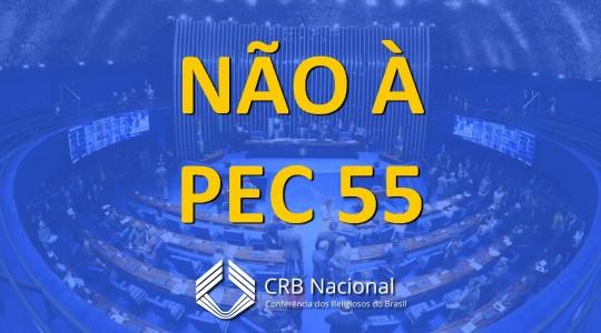 Nota da Conferência dos Religiosos/as do Brasil  sobre a PEC 55