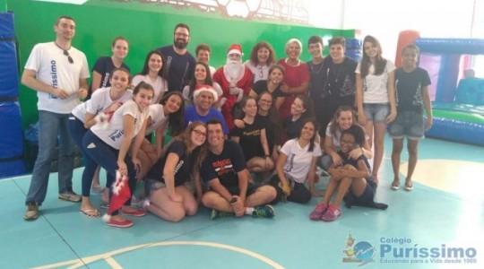 Colégio Puríssimo promoveu Campanha Natal 2016
