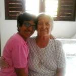 Irmã Mercês com a Irmã Marilucia