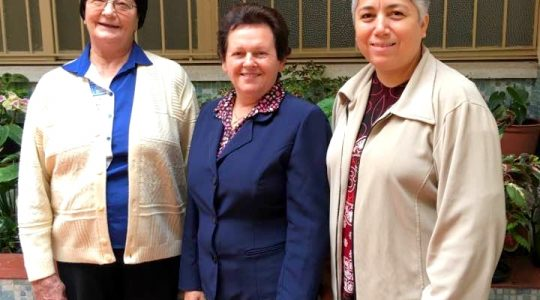 Realizada reunião da Diretora Geral com as Coordenadoras Provinciais