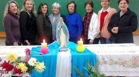 Encontro das Irmãs e leigas que trabalham na secretaria congregacional