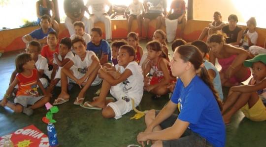 Ação ICM em Fortaleza leva Arte e formação às crianças, adolescentes e mulheres