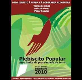 Plebiscito Popular pelo limite da propriedade da terra