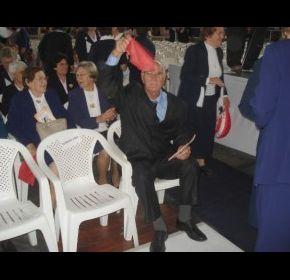 Agraciado com cura, Onorino Ecker dá testemunho da intercessão de Bárbara Maix