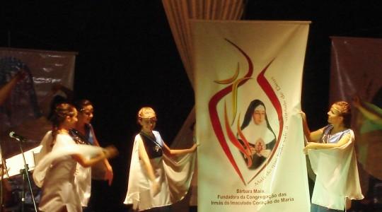 Lançamento da Logomarca e CD da Beatificação de nossa Fundadora, a Serva de Deus Bárbara Maix