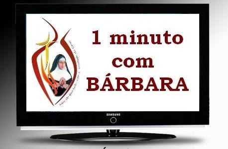 """Programa """"Um Minuto com Bárbara"""" muda de horário na REDEVIDA"""