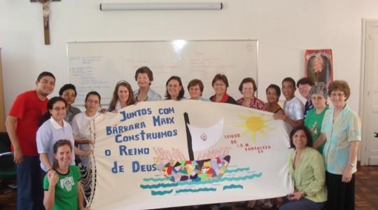 Irmãs, leigos e leigas ICM atuantes na missão de Bárbara Maix