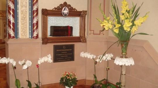 Capela com os restos mortais de Madre Bárbara Maix é aberta a visitação pública