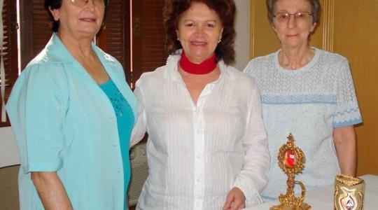 Deputada Marisa Formolo visita Sede Geral da Congregação