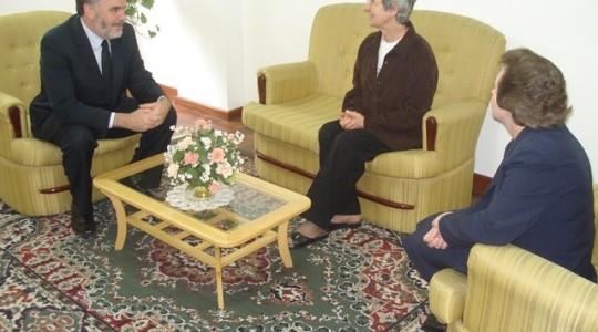 Deputado Estadual Daniel Bordignon visita Sede Geral da Congregação