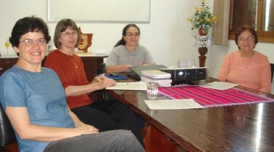 Irmãs preparam encontro de animação missionária em 2011
