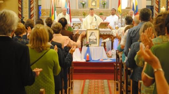 Missa recordou os três anos da Beatificação de Bárbara Maix
