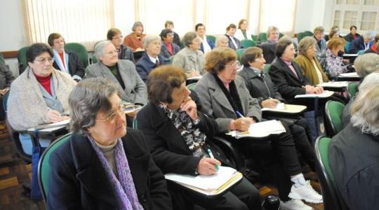 Setor Saúde reúne Irmãs ICM para encontro de formação