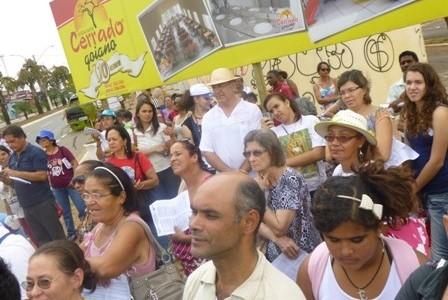Congregação marca presença na Romaria das CEB's, em Goiás