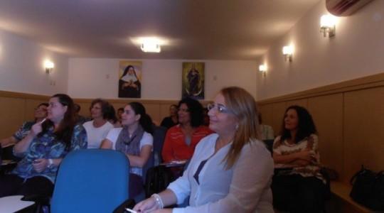 Encontro de Assistentes Sociais e as Diretoras