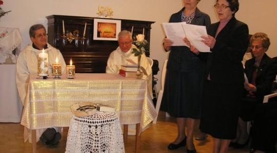 Celebração 50 anos de Vida Religiosa das Irmãs Edelize Marchesan e Leonilde Trevisan