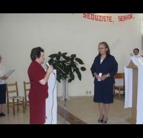 Consagração Religiosa da noviça Josiana dos Santos