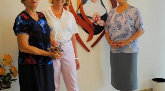 Consulesa da Áustria visita Memorial Bárbara Maix e a Capela São Rafael