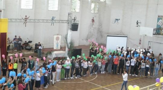 Presença ICM na Jornada Arquidiocesana de Juventude em Santa Maria