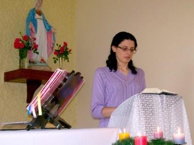 Renovação dos votos da Irmã Janice Hoefle