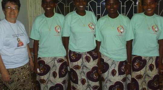 Vocações em Moçambique: ingresso de jovens do Noviciado ICM