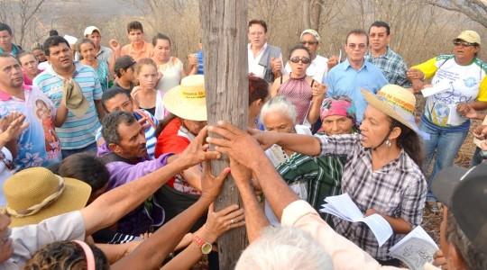 Picos/PI:  Romaria leva solidariedade às famílias vitimadas pela Mineração