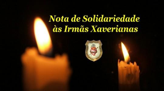 Congregação manifesta condolências pelo assassinato das Missionárias Xaverianas