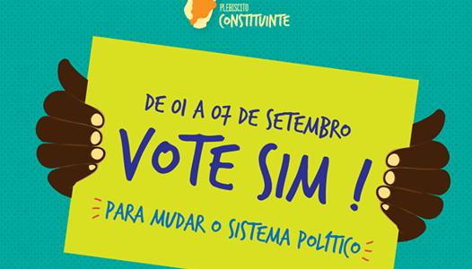 Participe do Plebiscito Popular por uma Constituinte