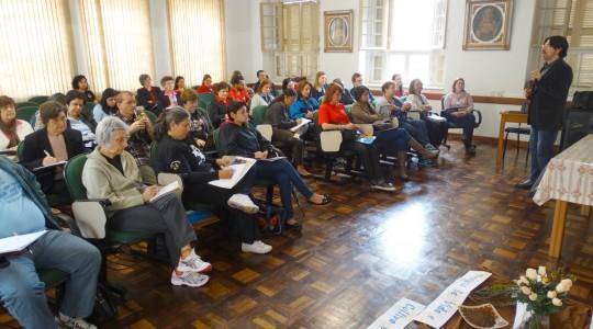 Porto Alegre/RS: Encontro de Formação Pastoral e Animação Vocacional reuniu Irmãs e leigos/as