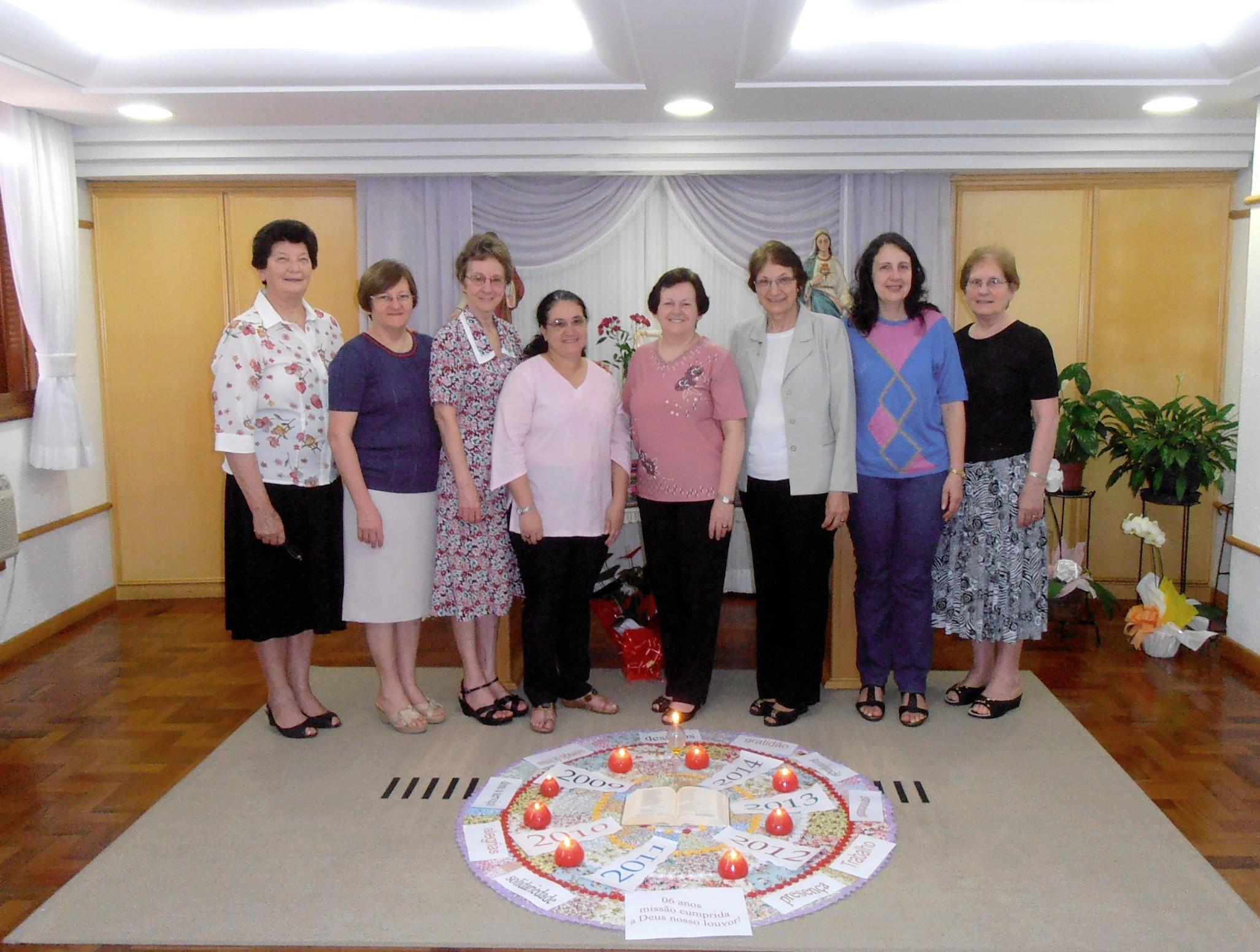 Irmãs do Conselho Geral realizaram a última reunião do sexênio