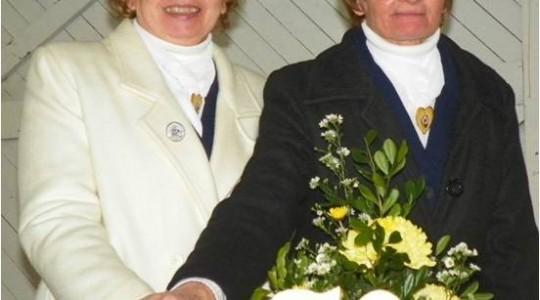 """Celebração de """"Bodas de Ouro"""" de Vida Religiosa das Irmãs Anna e Isalete Bisognin"""