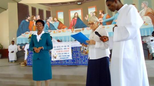 Moçambique: Congregação acolhe a Profissão Religiosa das Irmã Vânia Ermelinda Graciano