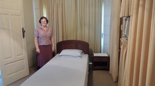 Em Natal/RN, o quarto que hospedou o Papa João Paulo II durante visita do Brasil