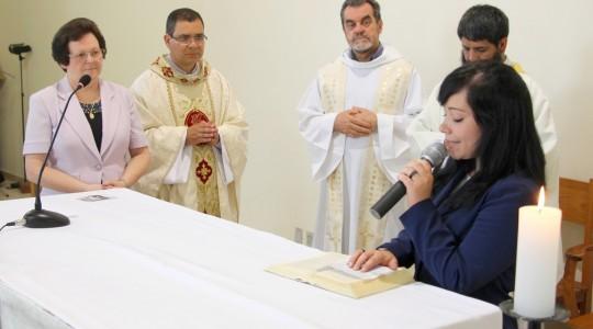 Congregação acolhe a profissão religiosa da Irmã Morgana Garcia
