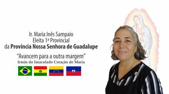 Ir. Maria Inês Sampaio é eleita a provincial da Província N. Sra. de Guadalupe