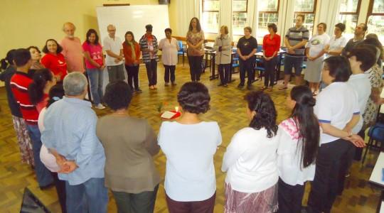 Irmãs participam de curso DABAR: leitura bíblica como fruto da caminha do Povo de Deus