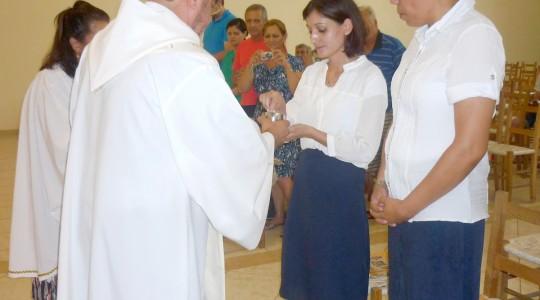 Celebração Eucarística  marca o ingresso de noviças na Congregação em Caxias do Sul