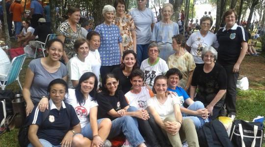 Irmãs marcam presença na 38º Romaria da Terra do Rio Grande do Sul