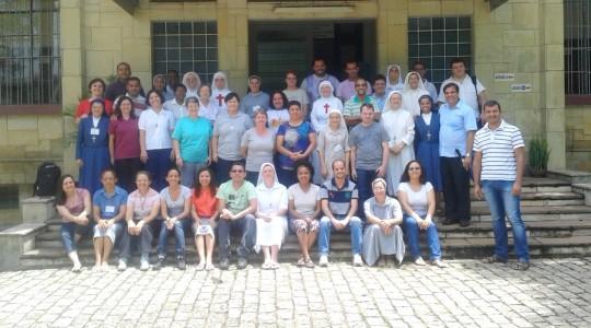 Irmã Josiana dos Santos participou de curso para formadores