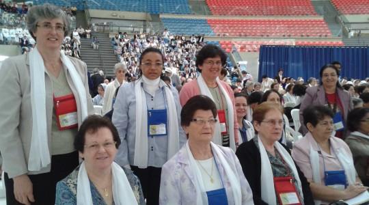 Congregação se faz presença no Congresso Nacional da Vida Consagrada, em Aparecida/SP