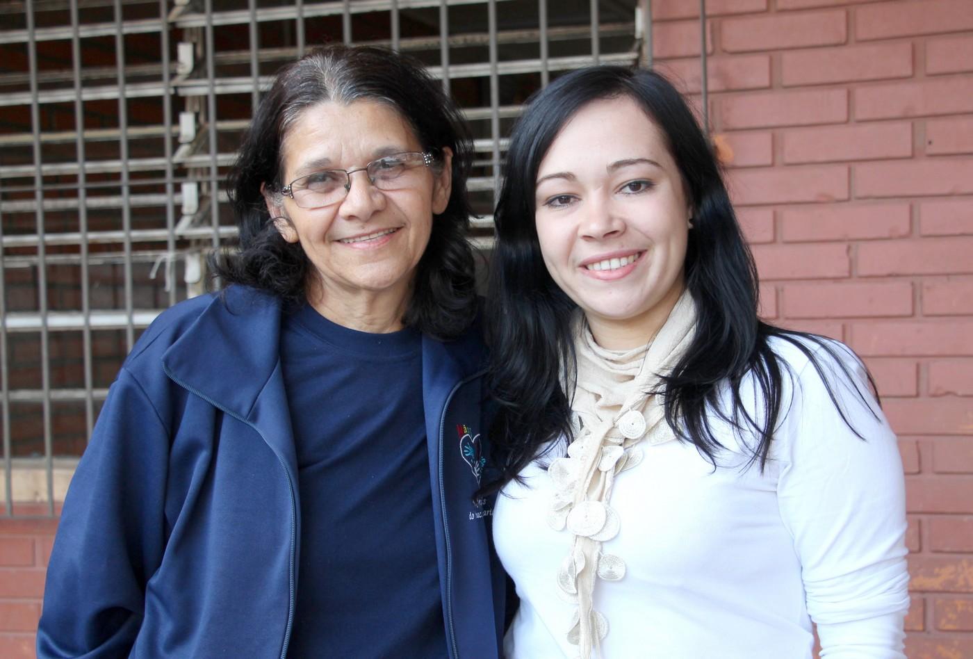 Irmã Raimunda Alves e a Irmã Morgana Garcia assumem a missão de diretora