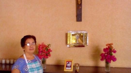 Devoção à Bem-Aventurada Bárbara Maix nas Filipinas, Ásia