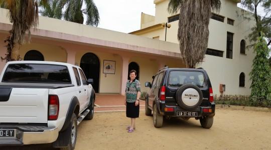 Irmã Marlise Hendges, em Angola