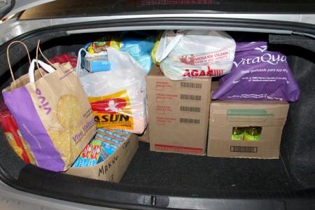 Colaboradores da Congregação arrecadam donativos para famílias atingidas pelas enchentes