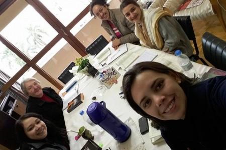 Realizado o encontro das junioristas da Província Maria Mãe de Deus