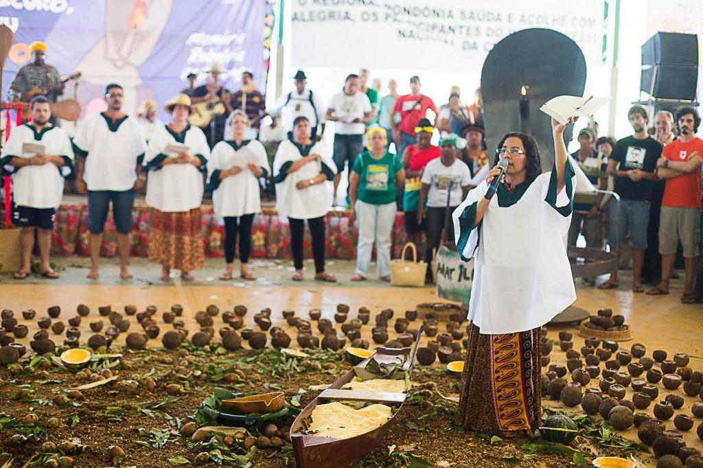 Irmã Josélia Diniz participou do congresso da CPT.